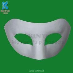 Plain White Masks To Decorate Custom Wholesale Molded Fiber Pulp Paper Christmas Decoration  Molded Decorating Design
