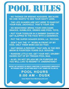25 Pool Ideas Pool Signs Pool Decor Pool