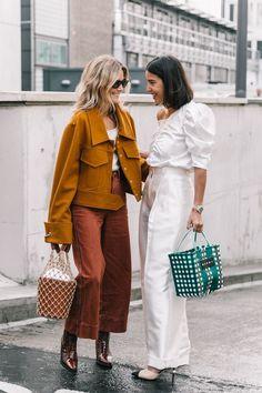 London SS18 Street Style III - http://www.collagevintage.com/2017/10/london-ss18-street-style-iii/