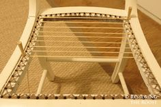 Restoring the Roost: chair caning 101
