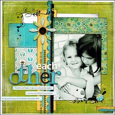 cute layout - 5 x 7