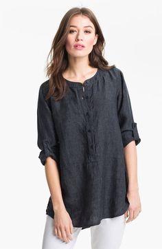 Eileen Fisher Linen Tunic| Nordstrom