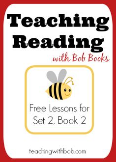 Teaching Reading with Bob Books: Free Reading Lessons for Bob Books Set 2, Book 2 - On social media, meanwhile, we heard lots of ideas from teachers who've found creative ways to accommodate some students' need to fidget without disrupting the whole class.