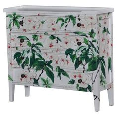 Check out this item at One Kings Lane! Gemma Dresser, White/Green
