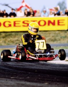 """I started racing go-karts. And I love karts. It's the most breathtaking sport in the world. More than F1, indeed, I used to like it most""."