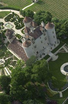 Chateau Lagrezette, Caillac, Lot, France
