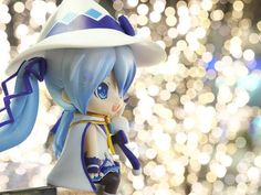 Cute photo of Snow Miku: Magical Snow Ver. nendoroid captured by Special Creator reonov