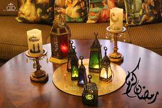 Ramadan Decorations, Table Decorations, Ikea Candles, Ramadan Mubarak, Eid, Decoupage, Table Lamp, Dinner, Party
