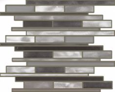 Draco Linear with various shades of grey aluminum Draco, Antique Copper, Shades Of Grey, Backsplash, Tile, Stainless Steel, Shelves, Antiques, Metal