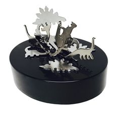Magnetic Art Dinosaurs. Unique office toys, supplies, and products at www.officeplayground.com use code P10 for 10% off