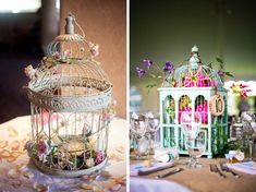 wedding bird cage