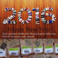 Don't forget about your New Year's resolutions! If you want to get healthier this year, start with switching to green coffee Now all ground green coffee 30% off visit www.cupofgreencoffee.com and use promo code: newyear #cupofgreencoffee #detox #skinny #slim #healthychoices #health #detoxcoffee #healthyeating #motivation #inspiration #inspire #eatclean #coffee #greencoffee #dreambody #fit #weightloss #coffeeaddict #coffeeshop #coffeebreak #diet #fitness #newyear #resolution