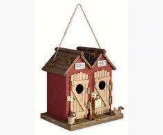 Outhouse Birdhouse