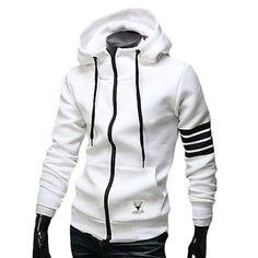 Hooded Zip Pullover Sweatshirts