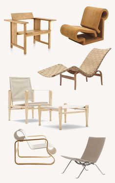 A Merry Mishap: 6 Vintage and New Lounge Chairs That Are Still Relevant