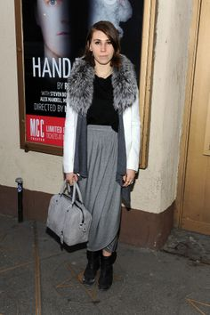 Zosia Mamet - Hand To God Off Broadway Opening Night in NYC 10 March 2014