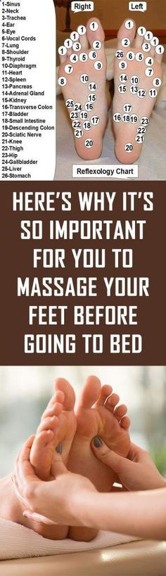 Here's Why It's So Important For You To Massage Your Feet Before Going To Bed - Solutions For Healthy Life Herbal Remedies, Health Remedies, Natural Remedies, Healthy Tips, How To Stay Healthy, Healthy Food, Healthy Recipes, Routine, Muscle Stretches