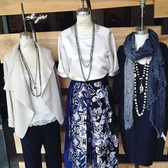 Our mannequins are fashionably ready for a new week! #stylist #fashionfirst #everydayisarunway #lookoftheday #OOTD