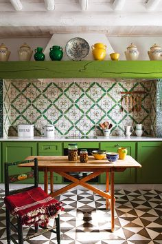 eclectic kitchen - source: ?
