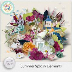 Digital Art :: Element Packs :: Summer Splash [Elements] by butterflyDsign