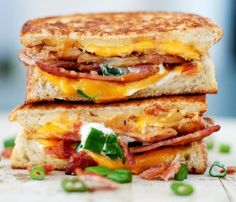 ‪#‎Cheese‬ is a good source of:  calcium, phosphorus, protein, vitamin A & zinc! Here are some twist on your childhood favorite: ‪#‎grilledcheese‬!