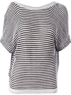 Shop Maison Ullens stripped oversized sweater in L'Eclaireur from the world's best independent boutiques at farfetch.com. Over 1000 designers from 300 boutiques in one website.