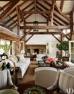 13 Utterly Inviting Rustic Living Room Ideas Photos | Architectural Digest
