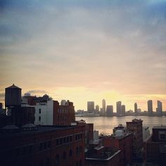"""Sunset shooting in TriBeCa."" —kimik"