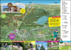 Plan des pistes VTT de Métabief Plans, Nordic Skiing, Atv, Cities, Dance Floors, Biathlon