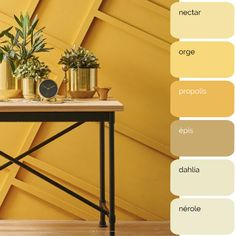 Bedroom Decor For Couples, Yellow Interior, Living Room Green, Decoration, Entryway Tables, Living Spaces, Moment, Sweet Home, New Homes