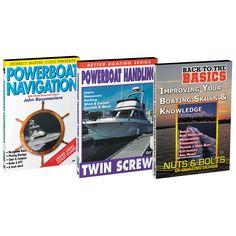 Bennett DVD - Boat Handling DVD Set w/Powerboat Navigation, Powerboat Handling & Back to the Basics - https://www.boatpartsforless.com/shop/bennett-dvd-boat-handling-dvd-set-wpowerboat-navigation-powerboat-handling-back-to-the-basics/