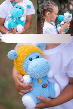 Crochet Gifts, Cute Crochet, Crochet For Kids, Crochet Ideas, Crochet Baby, Crochet Animal Patterns, Crochet Patterns Amigurumi, Crochet Animals, Pattern Cute