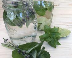 Mason Jars, Glass Vase, Fancy, Future, Blog, Decor, Basil, Lemonade, Syrup