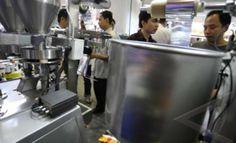 pameran mesin packing otomatis untuk snack, makanan, kerupuk, gula menggunakan plastik/ sachet