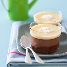 Découvrez la recette du cheesecake double chocolat