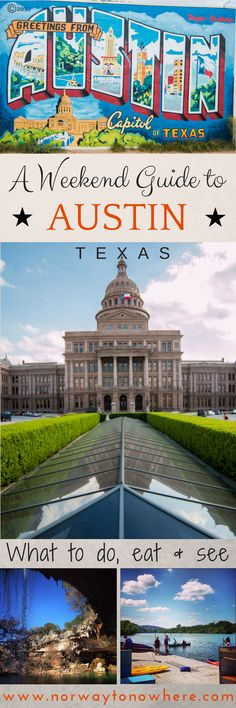 Getaway: A Guide to Austin, Texas How to make the most out of a long weekend to Austin, TX!How to make the most out of a long weekend to Austin, TX! Texas Vacations, Texas Roadtrip, Texas Travel, Vacation Trips, Vacation Spots, Travel Usa, Family Vacations, Cruise Vacation, Disney Cruise