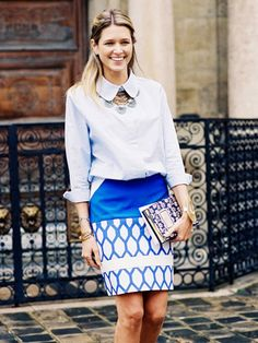 Your Guide to Prints: 34 Street Style Looks to Inspire You via @WhoWhatWear