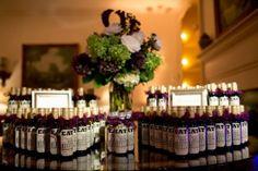 { Ask Cynthia }: Wedding Inspirations | Winery Weddings | Custom Wine Bottle Favors