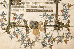Des armoiries et des livres - Manuscrits et marques d'appartenance Avignon, Bibl. mun., ms. 6733, f. 40