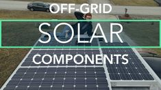 Solar Power 101: This video explains the essential components of an off-grid solar power system. This includes solar panels, a charge controller, a battery bank, an inverter and a battery monitor. This couple installed a 600W solar system to power the RV they live in fulltime.