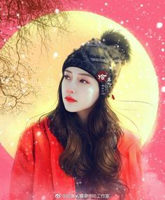 Painting Of Girl, Figure Painting, Angelababy, Star Art, Beautiful Asian Women, True Colors, Female Art, Cute Wallpapers, Art Girl