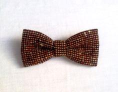 Mens bow tie vintage tweed  vintage bow tie  by KristineBridal, $39.99