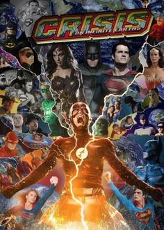DC Comics | Imagem sugere Crise nas Infinitas Terras no cinema e na TV | Omelete