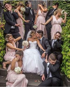 Witzige Hochzeitsfotos - Fotoideen