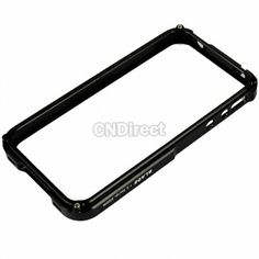 $6.04 New Classic Aluminum Alloy Hard Cover Case Skin Protector for Apple iPhone 4 4S Black