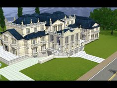 Some people just have all the talent. Benz G Class, Sims 3, Fandoms, Mansions, House Styles, Awesome, People, Manor Houses, Villas