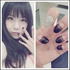 Kpop nail art
