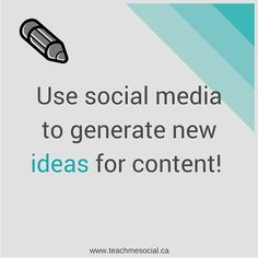 Watch what others are doing well on #socialmedia and get #inspired to create new content with your own spin! #smm #inspiration #ideas #content #marketing #pr #create #creative