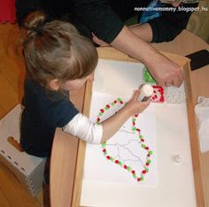 Non-native Mommy: Hungarian National Holiday- March 15 Hungarian Flag, Irish Celebration, Diy And Crafts, Crafts For Kids, We Make Up, Kinds Of Colors, Pom Pom Garland, National Holidays, Spring Crafts