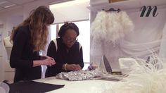 Chanel haute couture :  les secrets de fabrication de la robe miroir por...